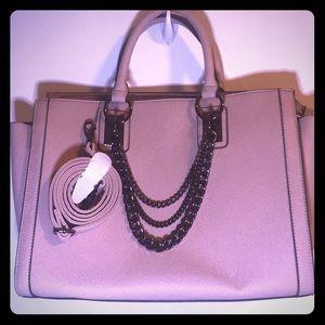 JustFab Mauve pink Hand Bag w/ Shoulder Strap